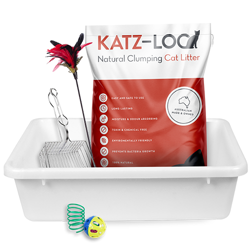 Katz-Loo PREMIUM Starter Kit With METAL Scoop