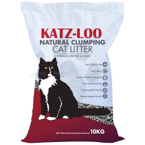 Bag of Katz Loo Natural Clumping Litter